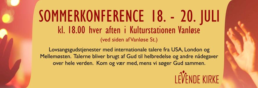 Sommerkonference 18. - 20. juli